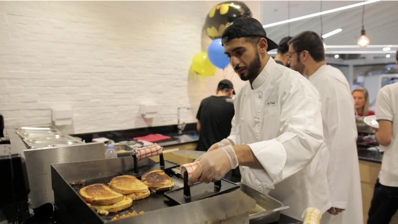Photo: Dubai's super fit chef